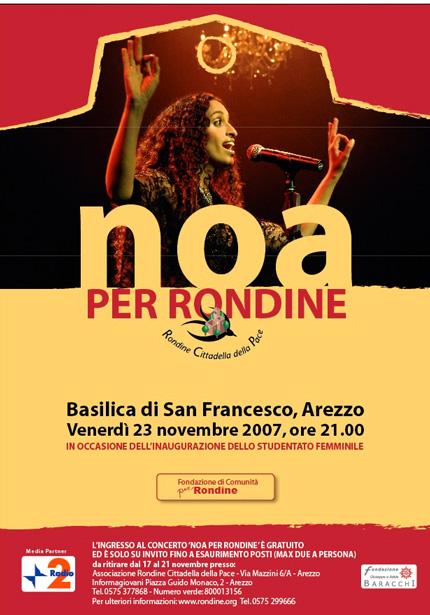 Noa in Concerto per Rondine