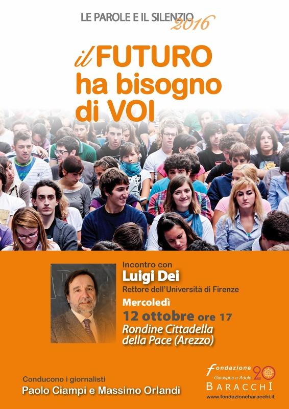 Fondazione Settembre 2016 DEI Locandina 566x800