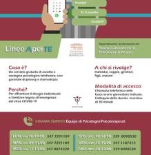 Linee AperTE - Sostegno Psicologico Emergenza Coronavirus