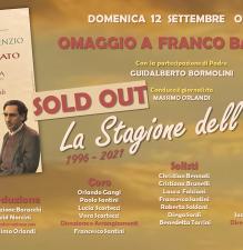 LA STAGIONE DELL'AMORE Omaggio a Franco Battiato