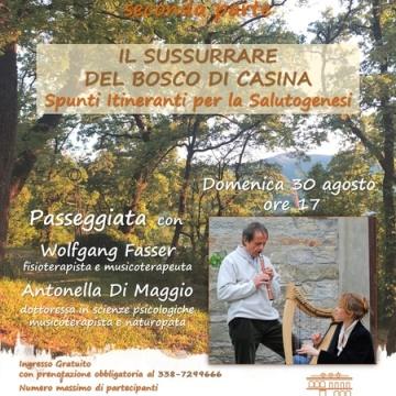 Il sussurrare del Bosco di Casina