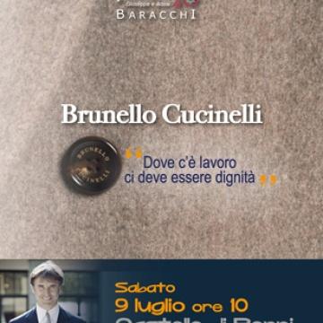 Le parole e il silenzio 2016 - Incontro con Brunello Cucinel...