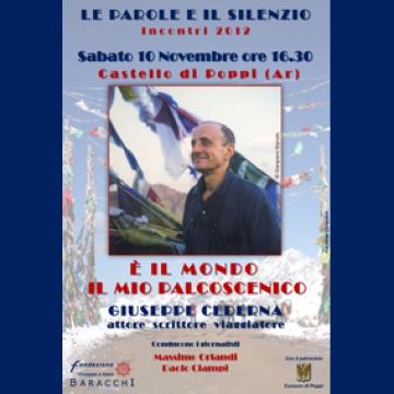 È il mondo il mio palcoscenico: incontro con Giuseppe Cedern...