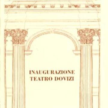 Inaugurazione Teatro Dovizi con Carla Fracci