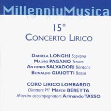 Millennium Musica -Concerto Lirico pro Confratenita Miserico...