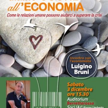 Incontro con l'economista Luigino Bruni