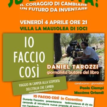 Incontro con Daniel Tarozzi